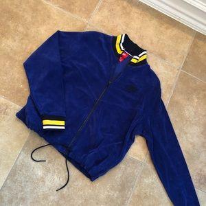 Blue & Yellow Nike Jacket